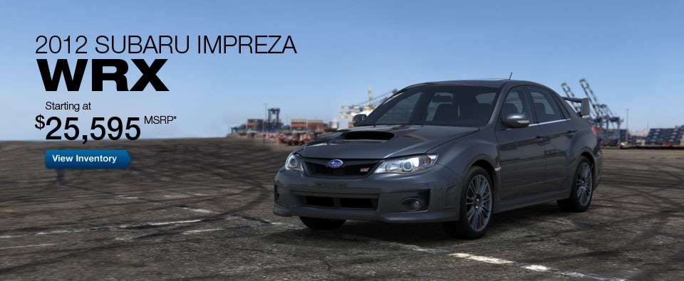 2012 Subaru Impreza WRX