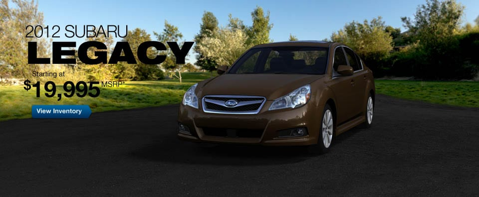 2012 Subaru Legacy