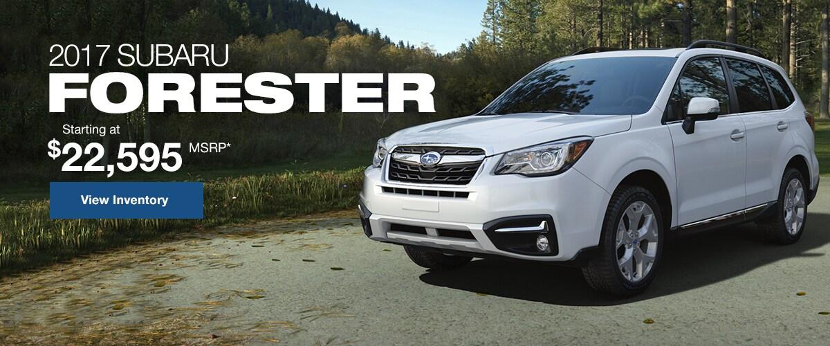 2017 Subaru Forester Portland ME | Pape Subaru, New Subaru SUV