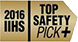 2016 IIHS Top Safety Pick