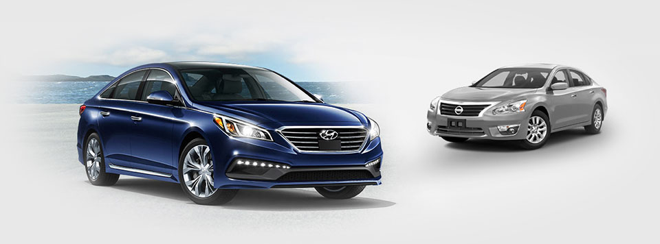 hyundai sonata vs nissan altima comparison from elgin hyundai. Black Bedroom Furniture Sets. Home Design Ideas