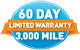 60 Day Limited Warranty