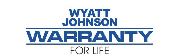 Wyatt Johnson Warranty