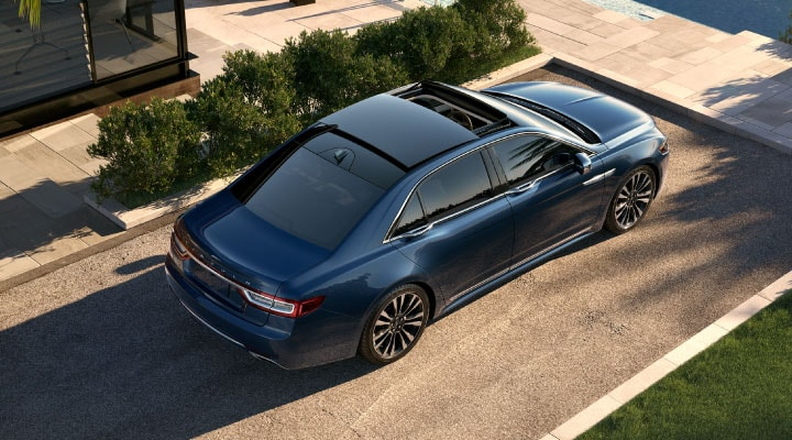 Lincoln Continental lease image